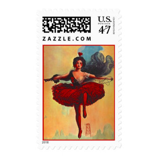 CIRCUS PERFORMER TIGHTROPE ARTIST STAMPS! STAMP