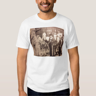 Circus Performers and White Horses T Shirt