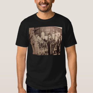 Circus Performers and White Horses T-shirt