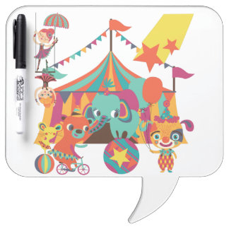 Circus Performers Dry-Erase Board