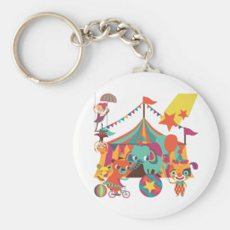 Circus Performers Key Chains