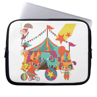 Circus Performers Laptop Computer Sleeve