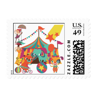 Circus Performers Postage