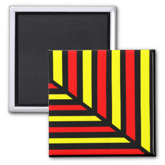 Circus Perspective Bold Line Art Magnet