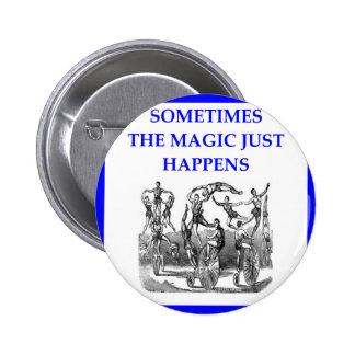 circus pinback button