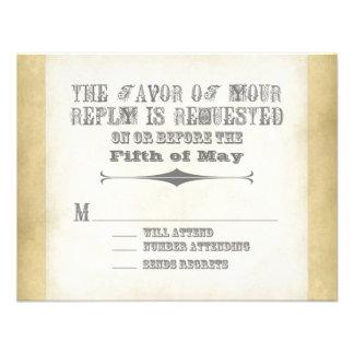 Circus Poster Style - Ombre Chevron Stripe Zig Zag Custom Announcements