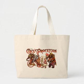 Circus Procession Tote Bag