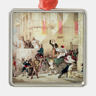 Circus Procession in Italy, 1830 Metal Ornament