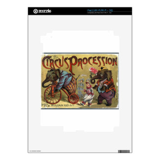 Circus Procession iPad 2 Decals