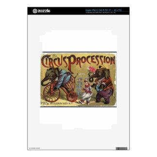 Circus Procession iPad 3 Skin