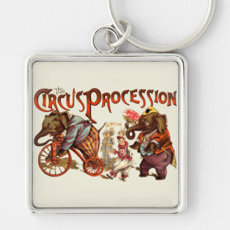 Circus Procession Key Chain