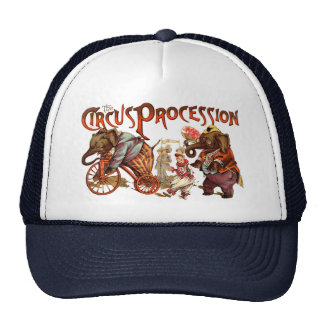 Circus Procession Trucker Hat