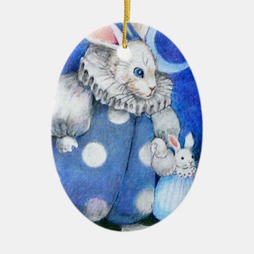 Circus Rabbit Ornament