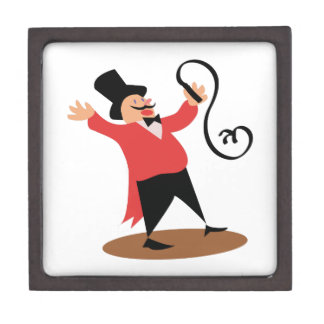 Circus Ringmaster Premium Keepsake Box