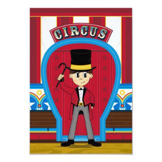 Circus Ringmaster RSVP Card