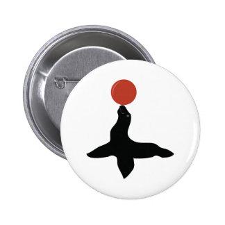 Circus Seal 2 Inch Round Button