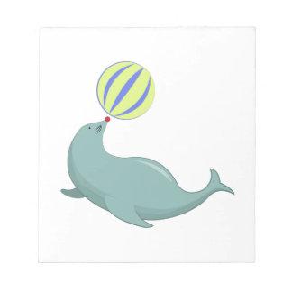 Circus Seal Scratch Pad