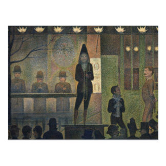 Circus Sideshow by Georges Seurat 1887 Post Card