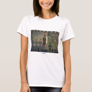 Circus Sideshow by Georges Seurat 1887 T-Shirt