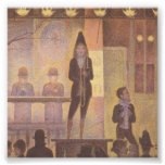 Circus Sideshow by Georges Seurat Art Photo