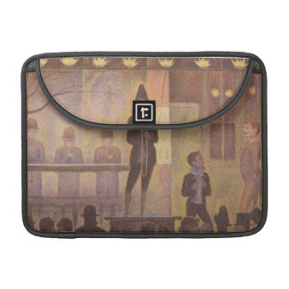 Circus Sideshow by Georges Seurat MacBook Pro Sleeve