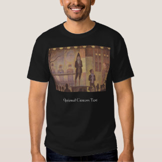 Circus Sideshow by Georges Seurat T-shirts