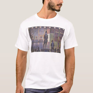 Circus Sideshow by Georges Seurat, Vintage Art T-Shirt