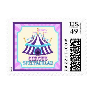 Circus Stamp