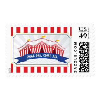 Circus Stamp - Come one, Come All