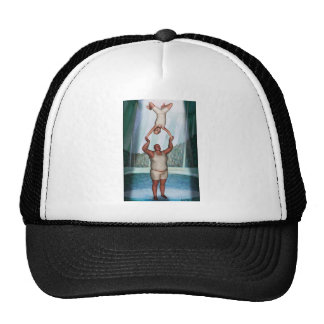 Circus Strongman Trucker Hat