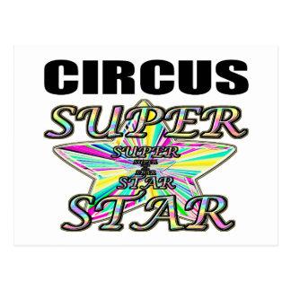 Circus Superstar Postcard