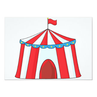 Circus Tent Invitations  sc 1 st  Zazzle & Big Tent Invitations u0026 Announcements | Zazzle