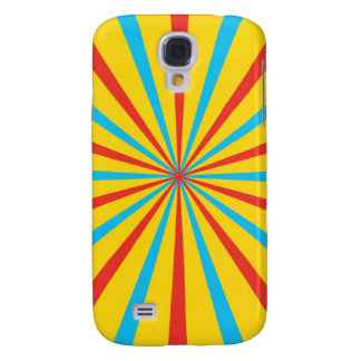 Circus Tent Pattern Galaxy S4 Cover