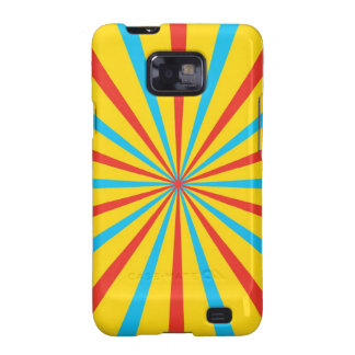 Circus Tent Pattern Samsung Galaxy S2 Covers