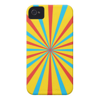 Circus Tent Pattern iPhone 4 Case