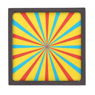 Circus Tent Pattern Premium Gift Boxes