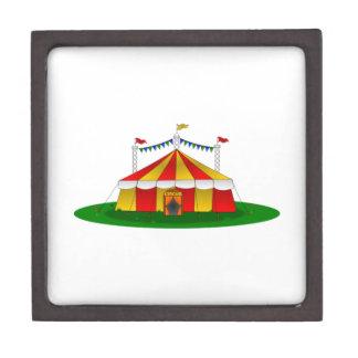 Circus Tent Premium Jewelry Box