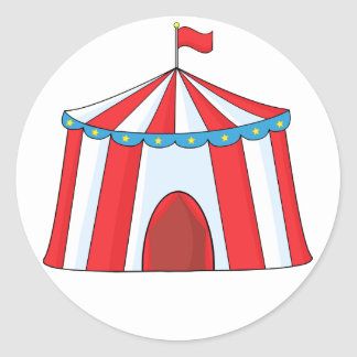 Circus Tent Stickers
