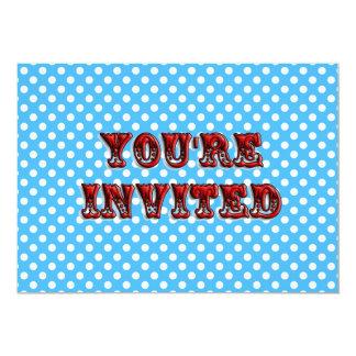 Circus Ticket Invitation