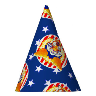 Circus Tiger paper party hat