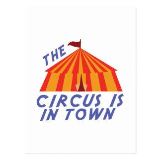 Circus Town Postcard