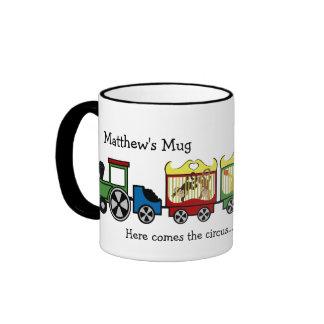 Circus Train Ringer Coffee Mug