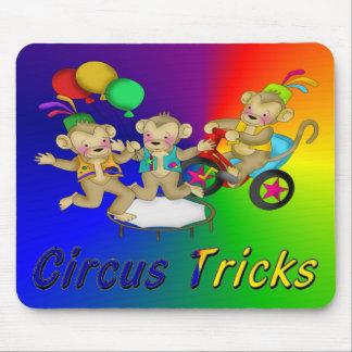 Circus Tricks Mouse Pad