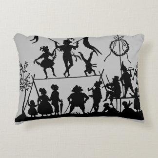 Circus Troupe Decorative Pillow
