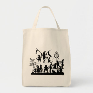 Circus Troupe Tote Bag