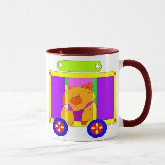 circus wagon  mug
