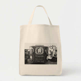 Circus Wagon Vintage 1937 Montana Photo Tote Bag