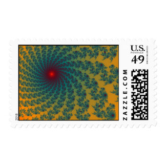 Circus Whirlpool Postage Stamp