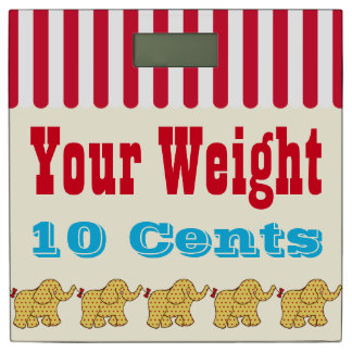 Circus Your Weight Scale