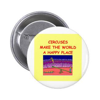 circuses pinback buttons